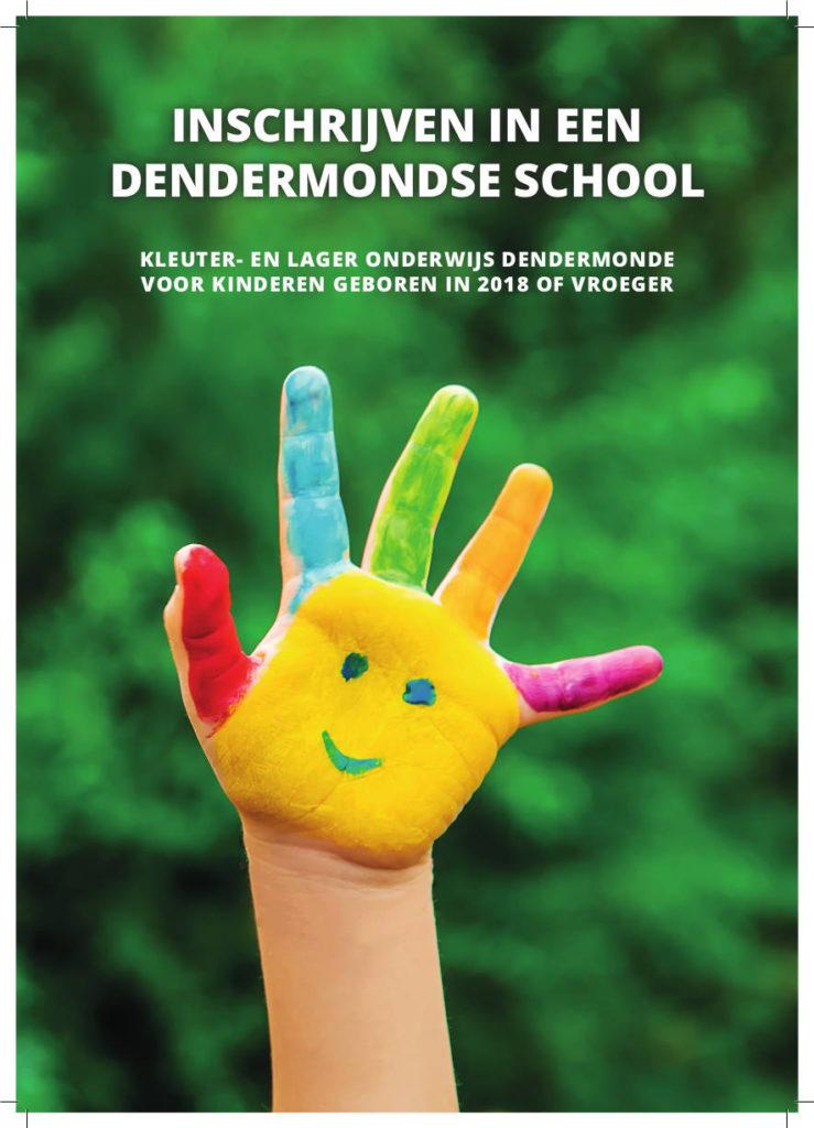 Brochure inschrijven in een Dendermondse school